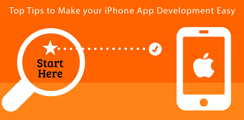 how to make simple app iphone